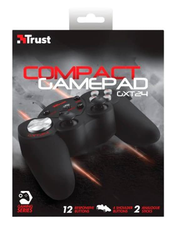 GXT 24 Compact Gamepad GXT 24 Compact Gamepad Trust-Gaming 797972700000 Bild Nr. 1