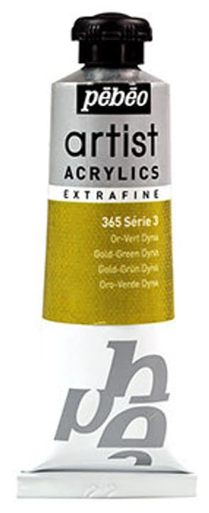 Acrylic EF 37 ml Pebeo 663572800000 Colore Or vert dyna N. figura 1