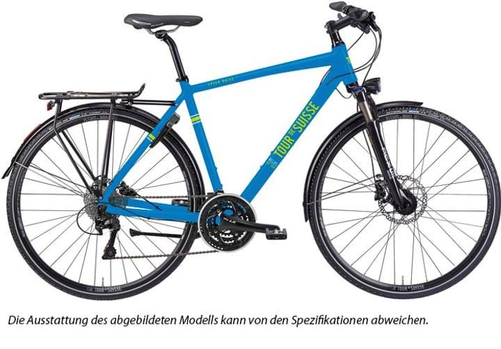 """Speeddrive Trekking Herren 28"""" Trekkingbike Tour de Suisse 463303205840 Rahmengrösse 58 Farbe blau Bild Nr. 1"""