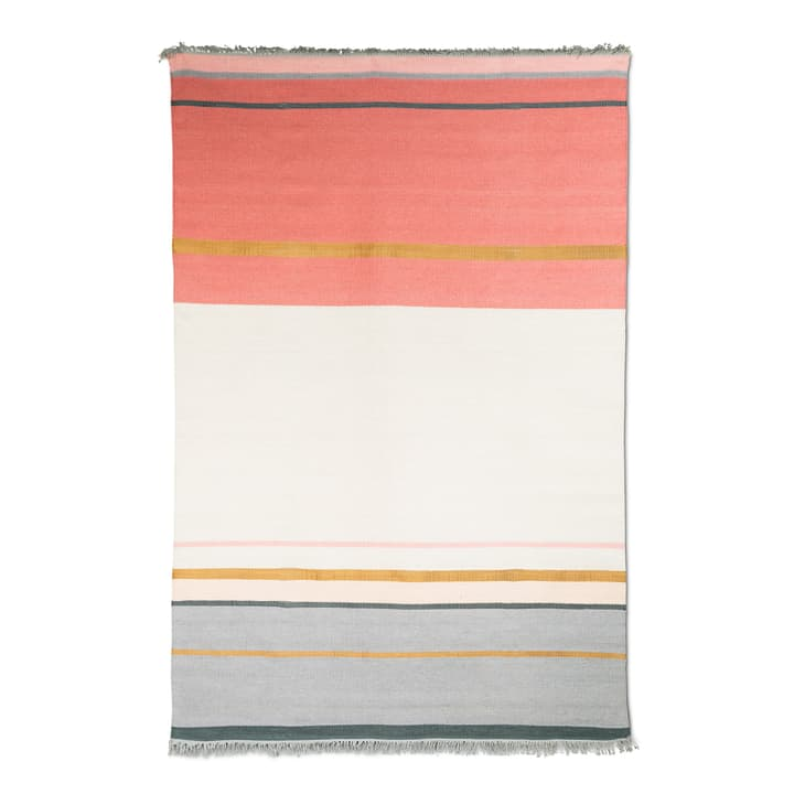 METALLUM Tappeto 371025000000 Colore Rosso Dimensioni L: 170.0 cm x P: 240.0 cm N. figura 1