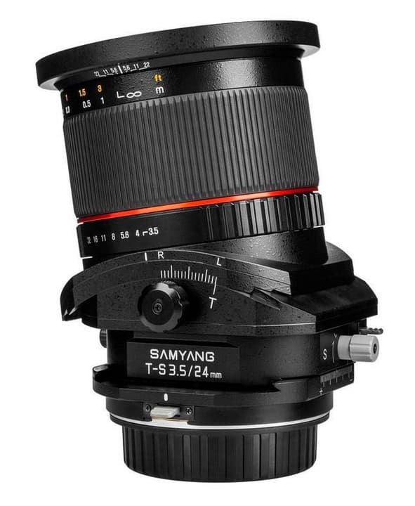 24mm / 3.5 ED AS UMC (T/S Lens) (Canon) Objectif Objectif Samyang 785300127643 Photo no. 1