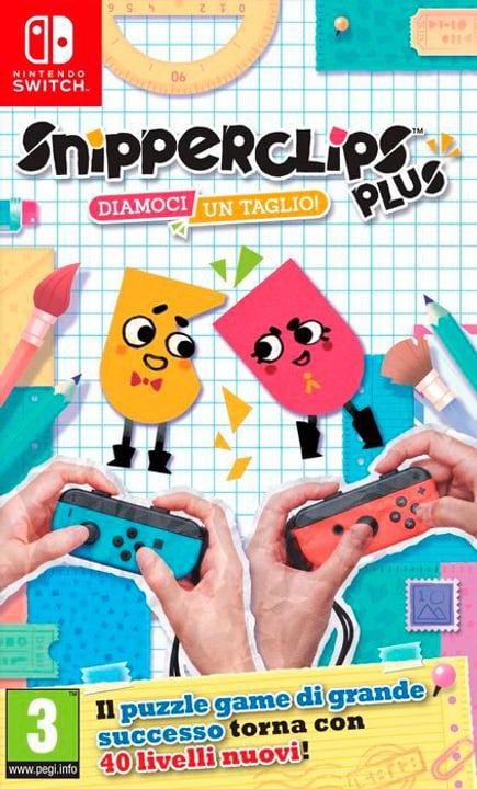 NSW - Snipperclips Plus - Diamoci un taglio! I Physique (Box) 785300130165 Photo no. 1