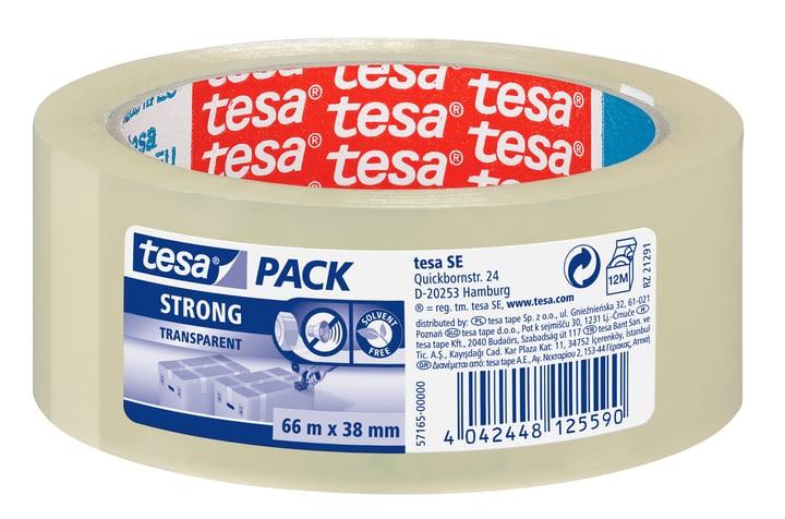 tesapack® strong 66m:38mm transparent Tesa 663075200000 Bild Nr. 1