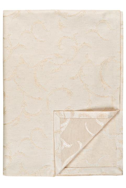 Tischdecke Cucina & Tavola 700363520100 Farbe Beige Grösse B: 140.0 cm Bild Nr. 1