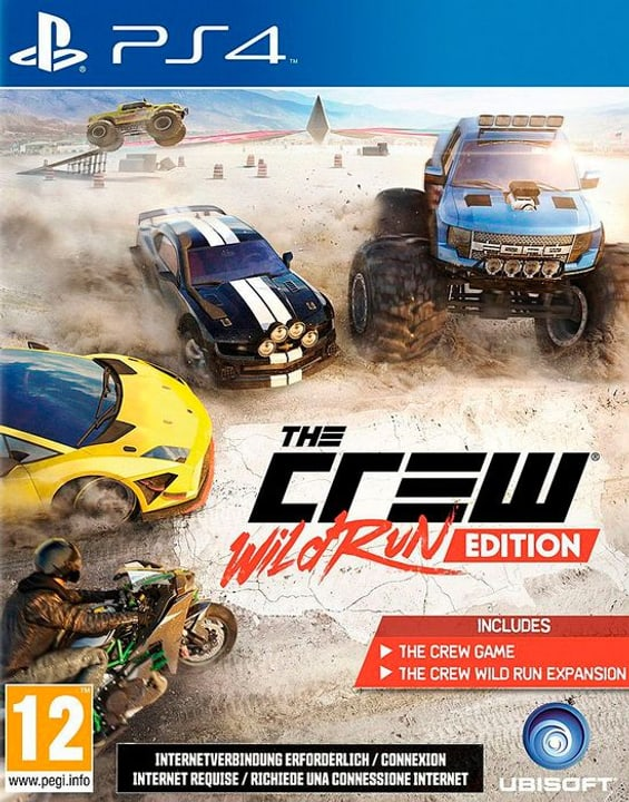 PS4 - The Crew Wild Run Fisico (Box) 785300121888 Lingua Tedesco Piattaforma Sony PlayStation 4 N. figura 1