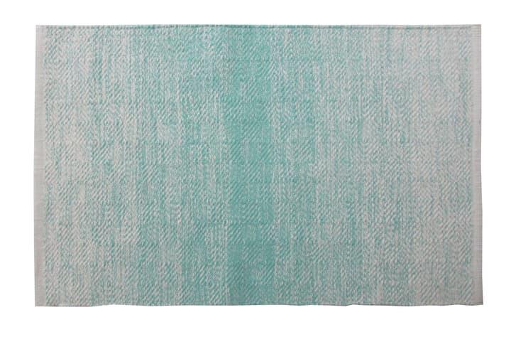 FLORIA Tapis de bain 453024751244 Couleur Turquoise Dimensions L: 60.0 cm x H: 90.0 cm Photo no. 1