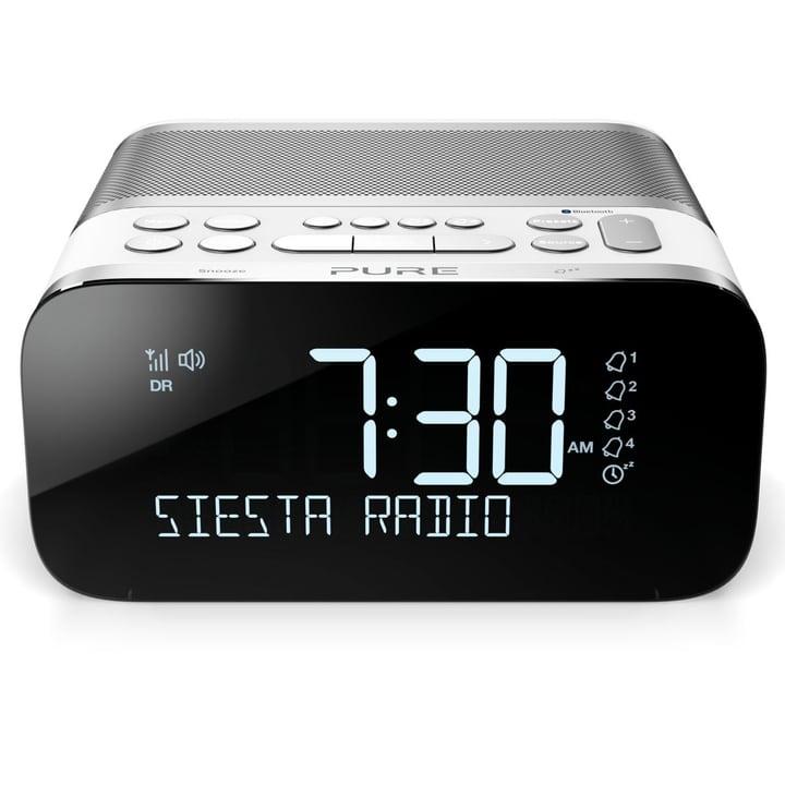 Siesta S6 - Weiss Radiowecker Pure 773412600000 Bild Nr. 1