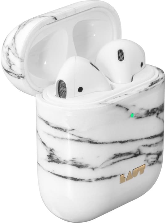 Huex Element for AirPods - White Marble Case Laut 785300150418 N. figura 1