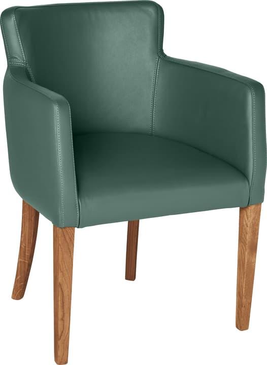 MORISANO Chaise 402358200060 Dimensions L: 56.0 cm x P: 46.0 cm x H: 79.0 cm Couleur Vert Photo no. 1