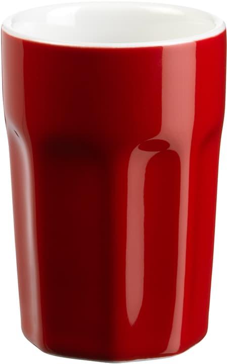 DORIANO Gobelet d'espresso 440299509030 Couleur Rouge Dimensions H: 7.9 cm Photo no. 1