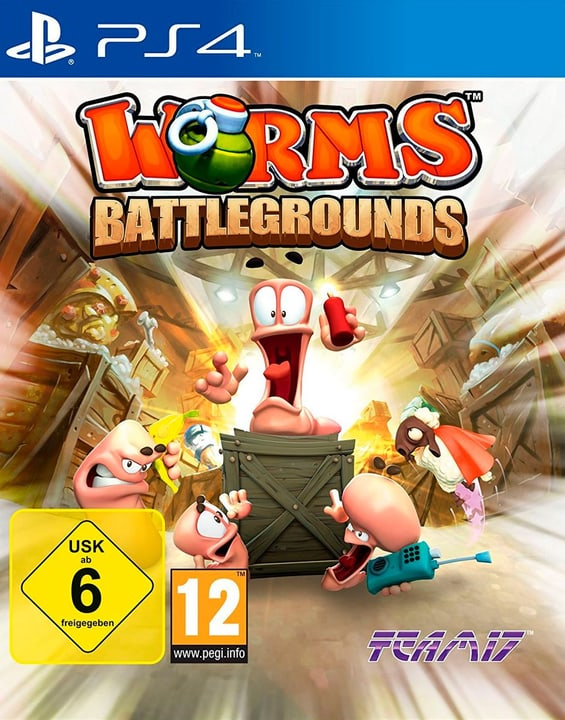 PS4 - Worms Battleground Fisico (Box) 785300121637 N. figura 1
