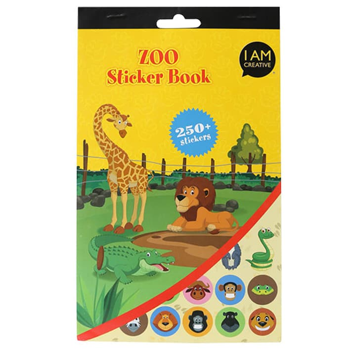Stickerbook, Zoo I AM CREATIVE 666204800000 Bild Nr. 1