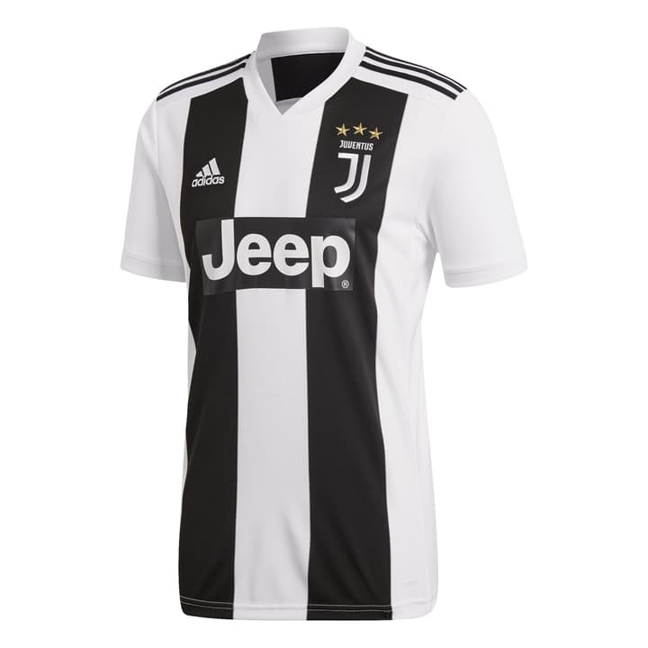 Juventus Turin Home Jersey Réplique de maillot de football Adidas 498284800320 Couleur noir Taille S Photo no. 1