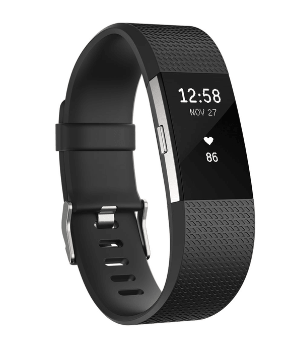 Charge 2 Noir Small Fitbit 798143500000 Photo no. 1