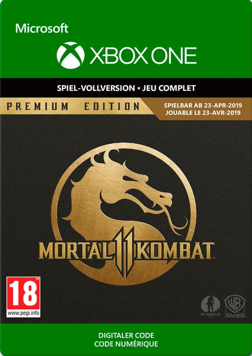 Xbox One - Mortal Kombat 11 Premium Edition Download (ESD) 785300143874 N. figura 1
