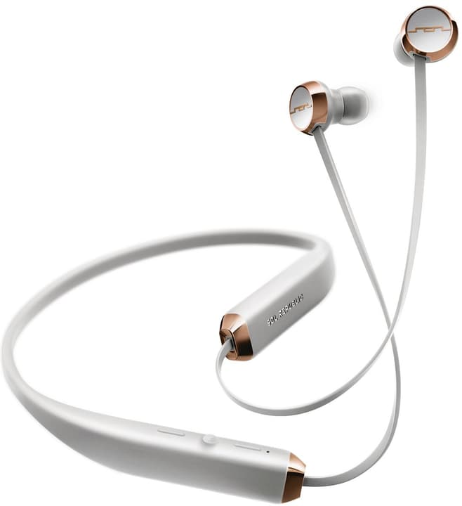 Shadow Wireless Bluetooth - Blanc/or rose Casque In-Ear SOL REPUBLIC 785300132144 Photo no. 1