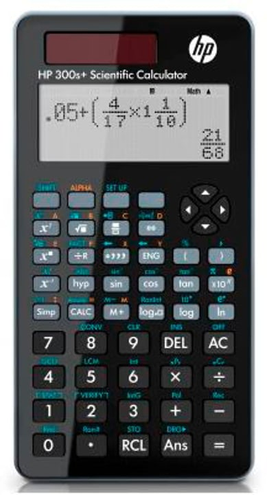 Calculatrice scientifique HP-300S+ multilingual Calculatrice scientifique HP 791035200000 Photo no. 1