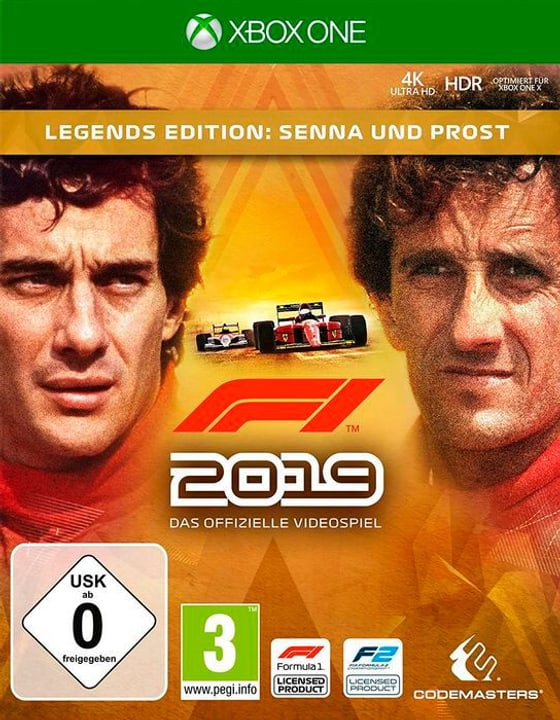 Xbox One - F1 2019 Legends Edition D Box 785300144627 Bild Nr. 1