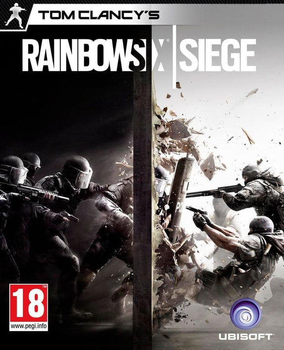 PC/DVD - Rainbow Six Siege 785300120077