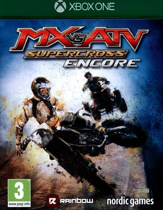 Xbox One - MX vs ATV: Supercross Encore Box 785300122042 Photo no. 1