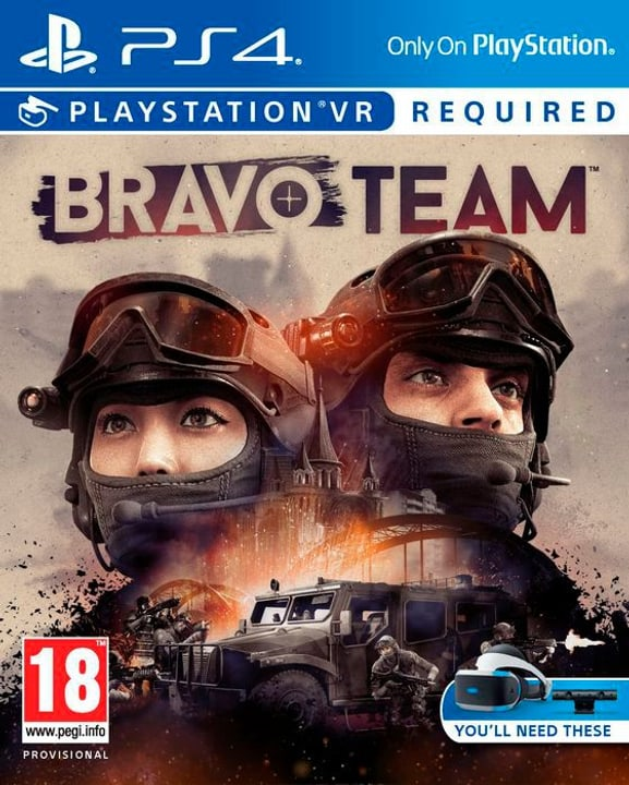 PS4 -Bravo Team VR Physique (Box) 785300130707 Photo no. 1