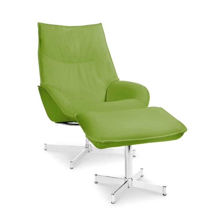 DAHLIA Poltrona e pouf 360010347410 Dimensioni L: 73.0 cm x P: 87.0 cm x A: 104.0 cm Colore Verde chiaro N. figura 1