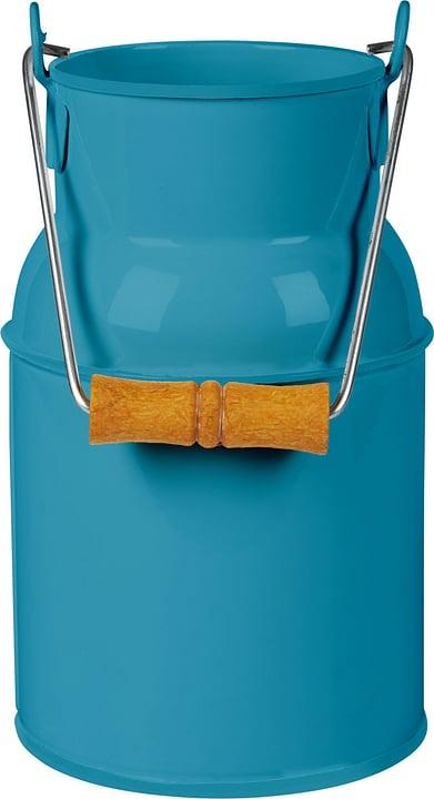 Pot à lait avec manche en bois 631326600000 Couleur Bleu Taille B: 13.0 cm x T: 10.0 cm x H: 23.0 cm Photo no. 1
