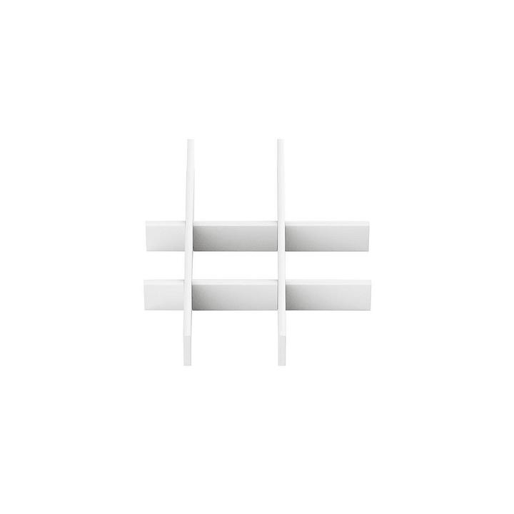 MILO Separazione per cassetto 364048276402 Dimensioni L: 50.0 cm x P: 16.0 cm x A: 3.0 cm Colore Bianco N. figura 1
