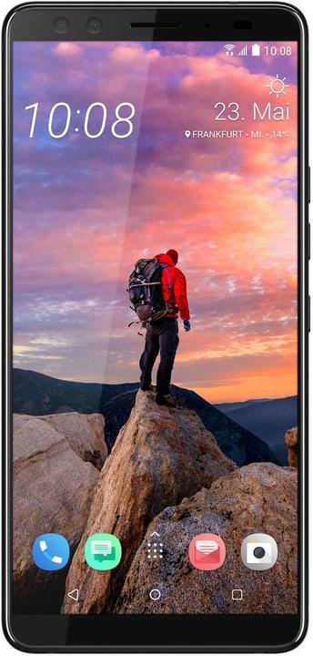 U12+ Dual SIM 64GB Ceramic Black Smartphone Htc 785300136052 Bild Nr. 1