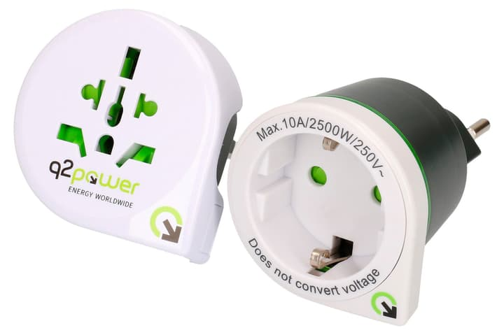 "Q2Power Adaptateur du monde ""Kombo"" 612153100000 Photo no. 1"