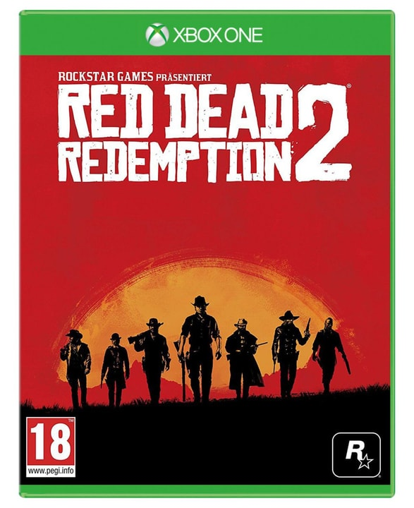 Xbox One - Red Dead Redemption 2 Box 785300128569 Langue Allemand Plate-forme Microsoft Xbox One Photo no. 1