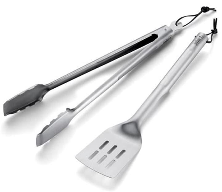 Kit utensili barbecue inox 2pzi Weber 9000030869 No. figura 1
