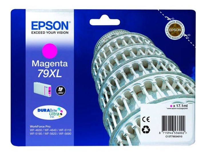79XL DURABrite Ultra Ink  magenta Cartouche d'encre Epson 785300124975 Photo no. 1