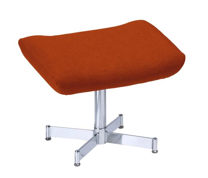 CHARLENE Pouff 402435508059 Dimensions L: 55.0 cm x P: 38.0 cm x H: 43.0 cm Couleur Orange foncé Photo no. 1