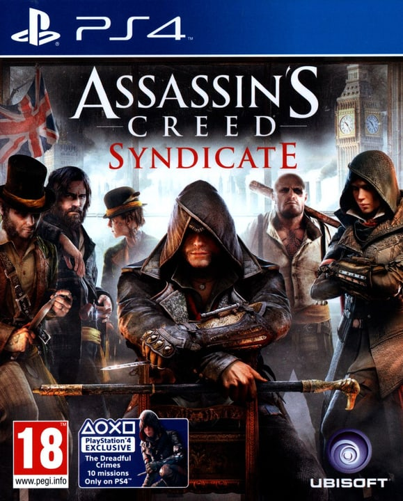 PS4 - Assassin's Creed Syndicate Fisico (Box) 785300129961 N. figura 1