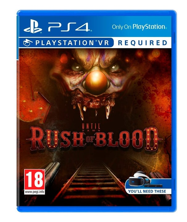 PS4 - Until Dawn: Rush of Blood VR Physique (Box) 785300121810 Photo no. 1