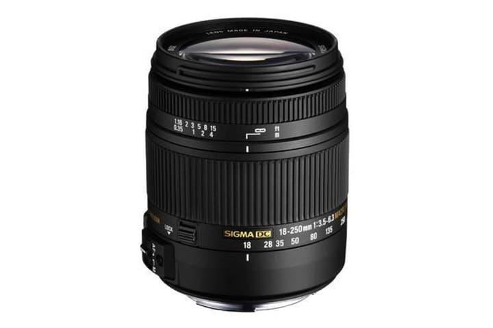 18-250mm/3,5-6,3 DC MACR OS HSM per Nikon obiettivo Sigma 785300126186 N. figura 1
