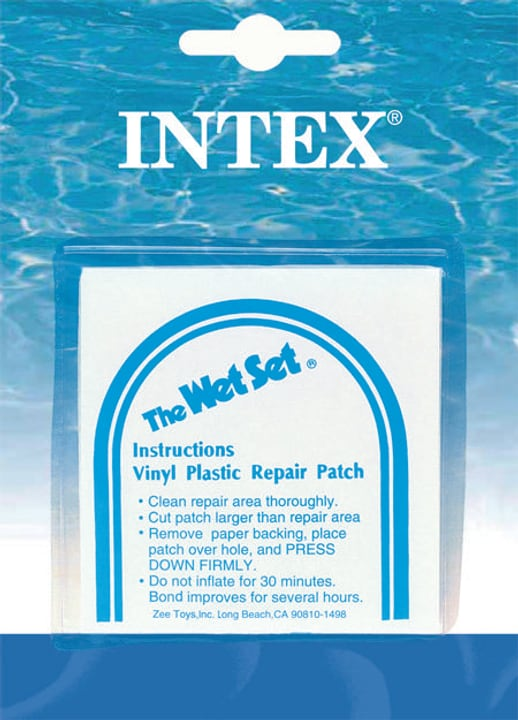 Reparatur Patches Patch per riparare piscine Intex 491029500000 N. figura 1