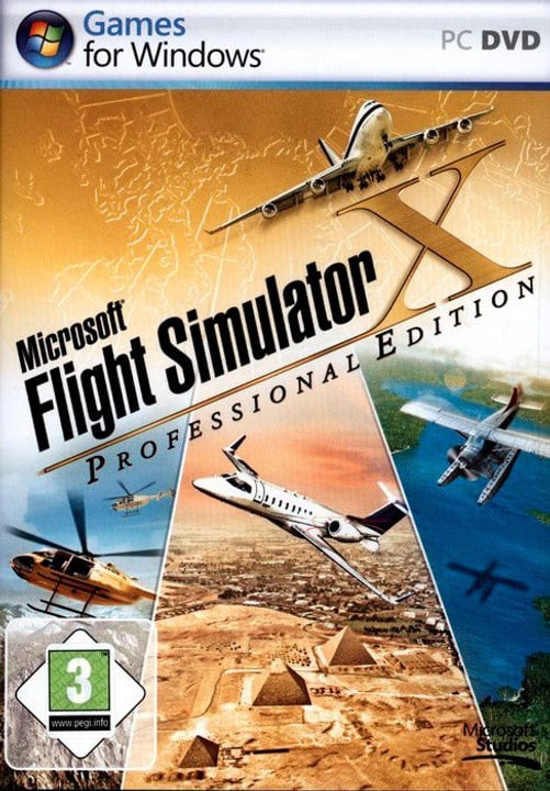 PC - Pyramide: Flight Simulator X - Professional Edition Box 785300121644 N. figura 1
