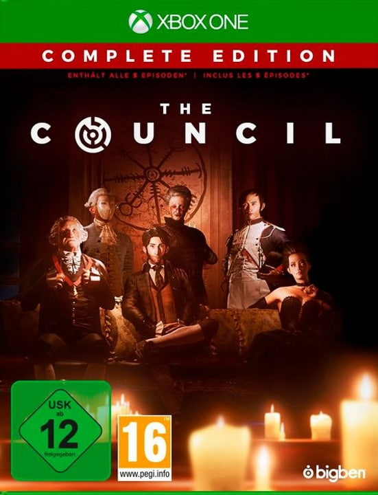 Xbox One -The Council D/F Box 785300139417 Photo no. 1