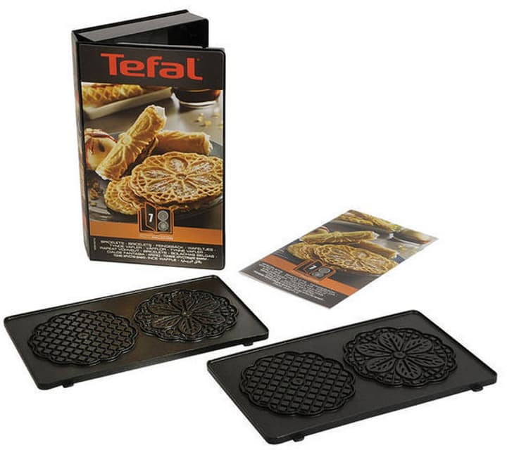Ensemble de plaques Snack Collection Bricelet Tostiera Tefal 785300137434 N. figura 1