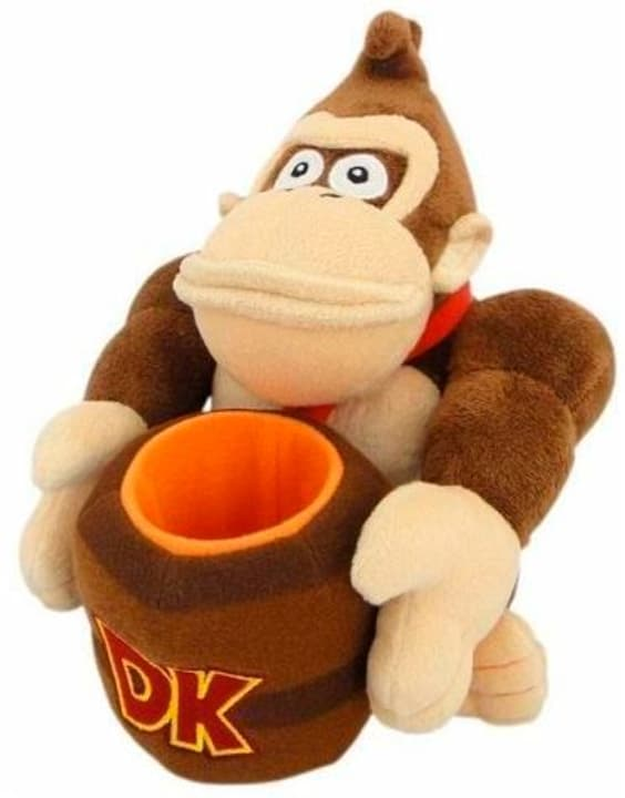 Donkey Kong mit Fass en peluche 785300142733 Photo no. 1