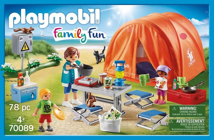 PLAYMOBIL 70089 Tente et campeurs 748014000000 Photo no. 1