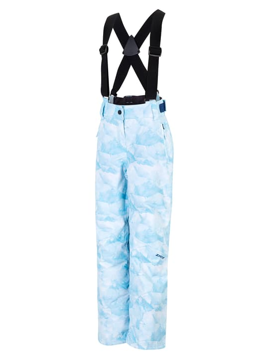 AVATINE Pantalone da sci per bambina Ziener 466800515241 Colore blu chiaro Taglie 152 N. figura 1