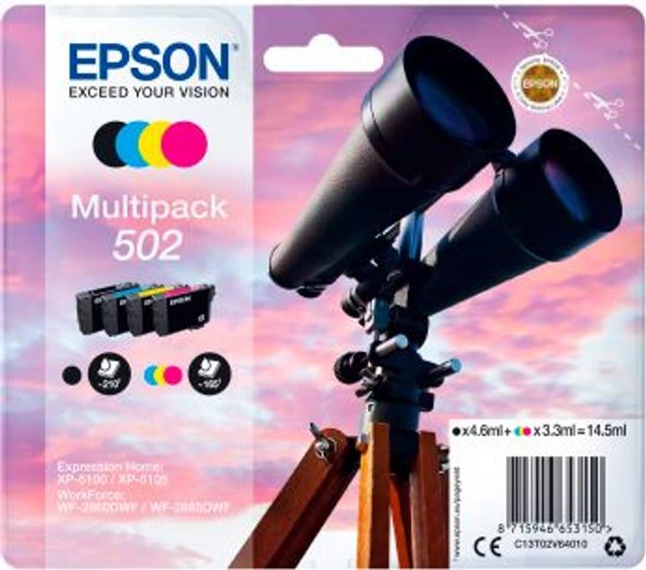 Multipack Tintenpatrone 502 CMYBK Tintenpatrone Epson 798559400000 Bild Nr. 1