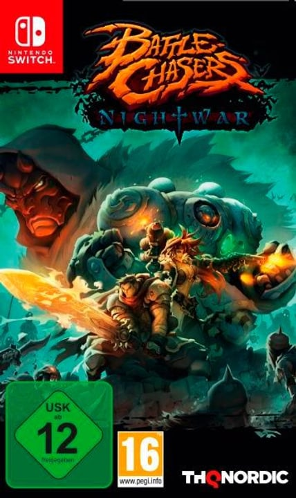Switch - Battle Chasers: Nightwar (E/d) Box 785300128982 Photo no. 1
