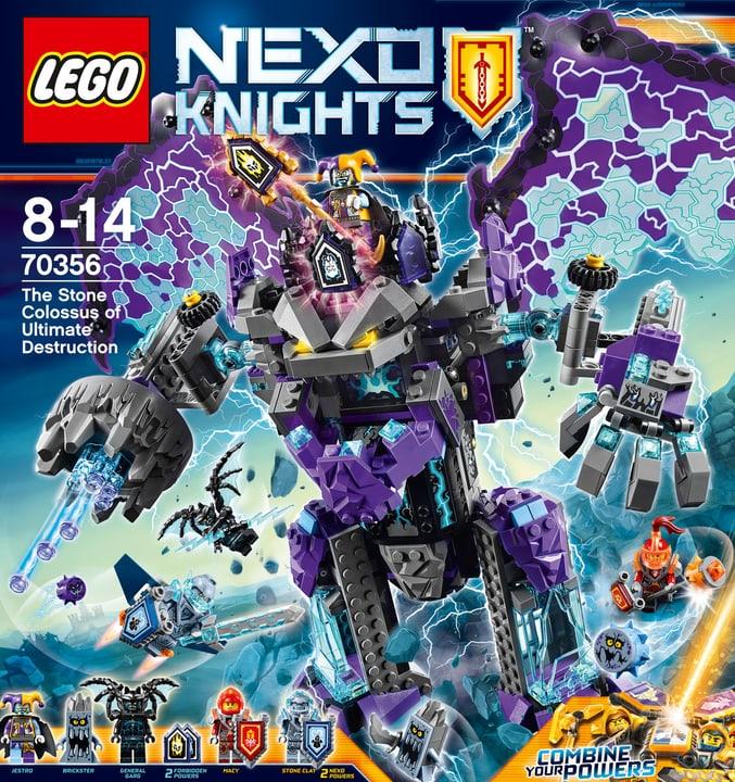 Lego Nexo Knights Le Colosse de pierre de la destruction s 70356 748853000000 Photo no. 1