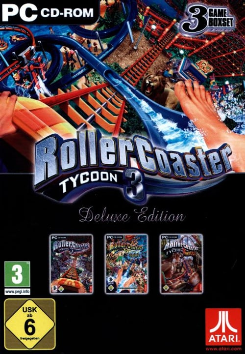 PC - Pyramide: RollerCoaster Tycoon 3 - Deluxe Edition 785300121961 Photo no. 1