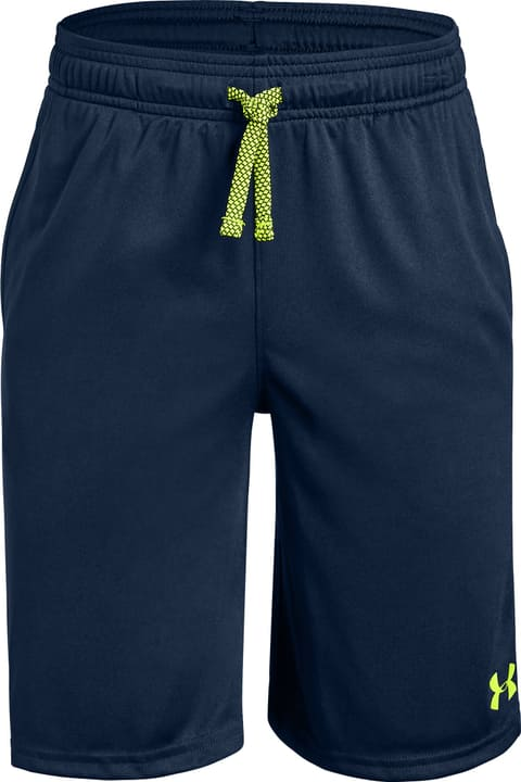 Boys' Prototype Wordmark Short Pantaloncini da bambino Under Armour 466904212843 Colore blu marino Taglie 128 N. figura 1