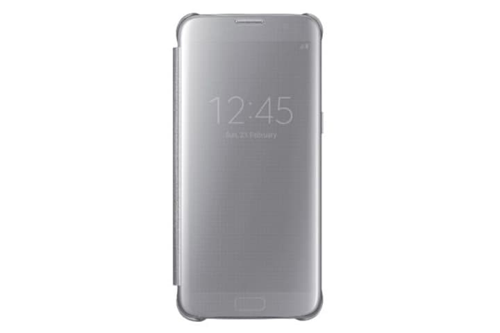 Clear View Cover S7 Edge silber Samsung 798079100000 Bild Nr. 1